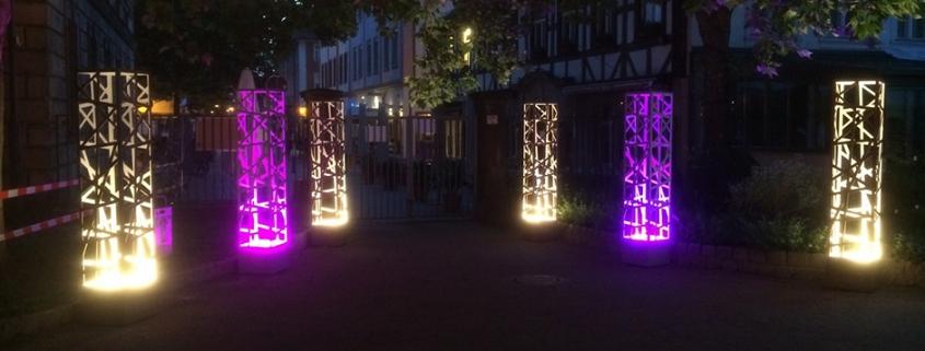 Lichtobjekte Event
