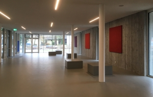 efecto Schule Neuhaus Inn betonkuben