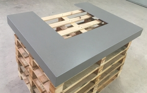 Feuertisch Beton für Schweden