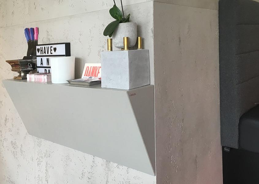Wandboard aus Betonplatten