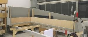 Herstellung Thekenaufsatz aus Beton