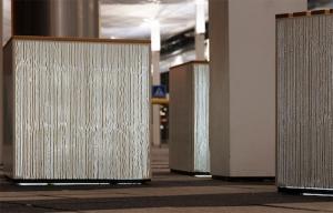 Flughafen München Lichtbeton