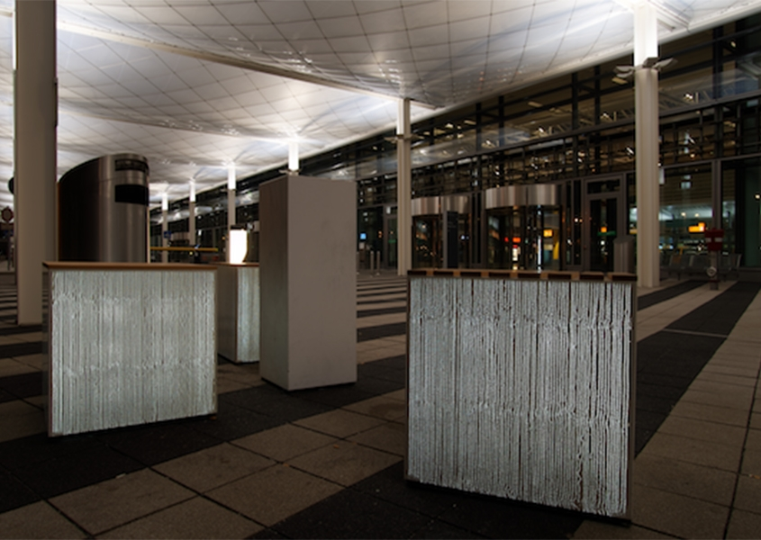 Lichtbeton München Flughafen Terminal 2
