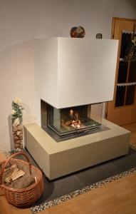 Feuertisch aus Beton