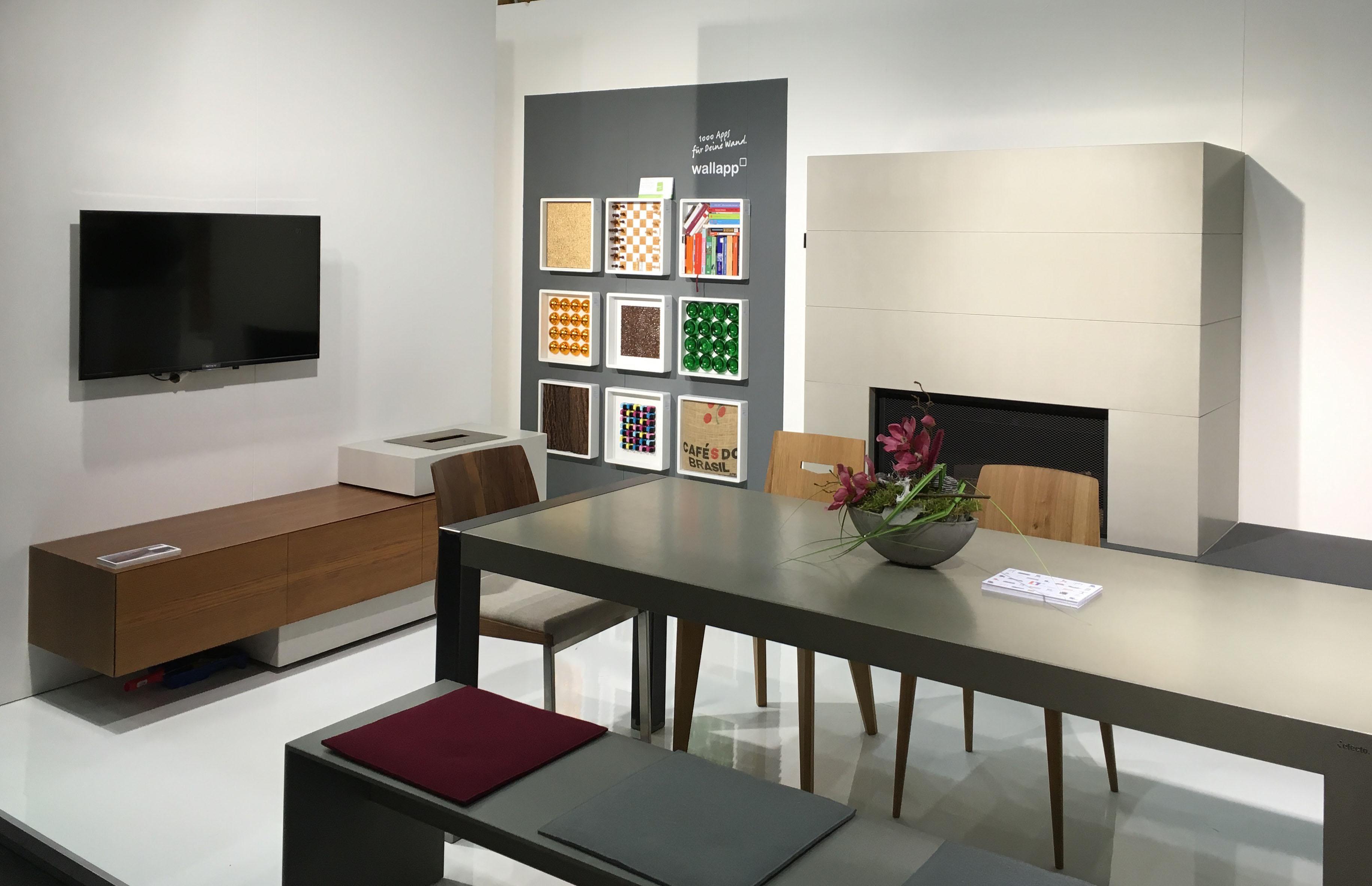 faszination beton efecto auf der wohnen interieur in wien blog efecto die betonschreiner